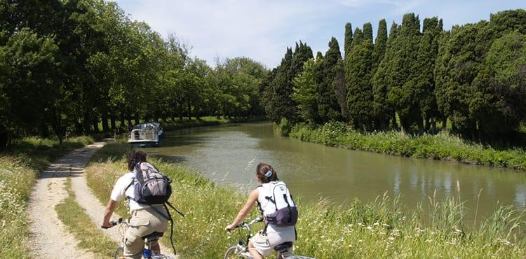 Cykelresor längs Canal du Midi med researrangören EverTrek