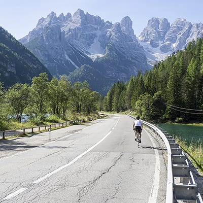 Cortina Dolomiterna Landsvägscykling