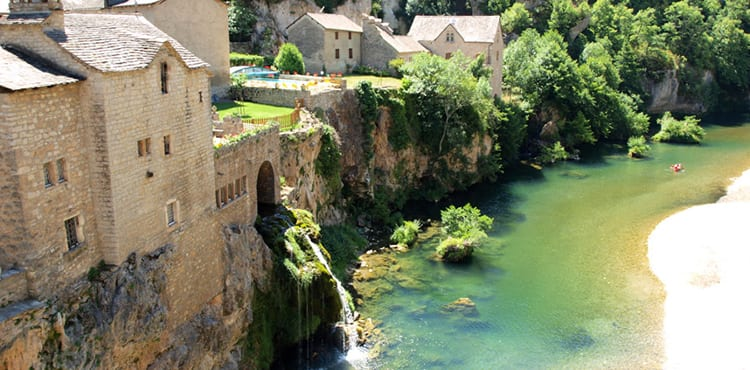 Gorges du Tarn, vandring, EverTrek