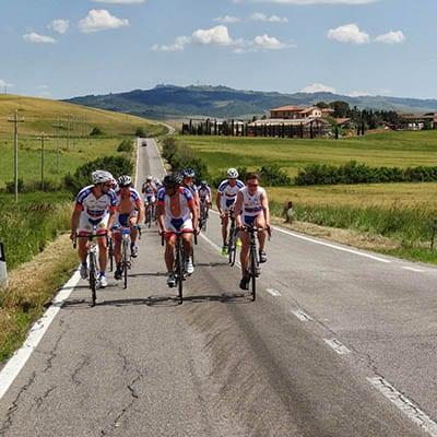 Cykelresor med landsvägscykel i Toscana