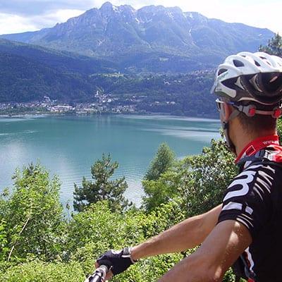 Mountainbike resor i Italienska Trentino
