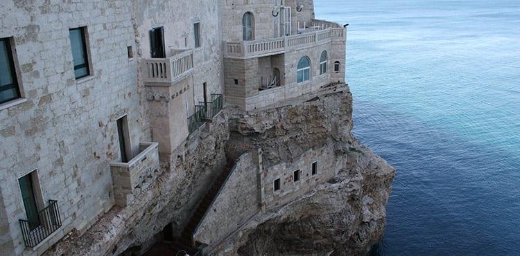 Cykelresan i Apulien startar i Polignano a Mare