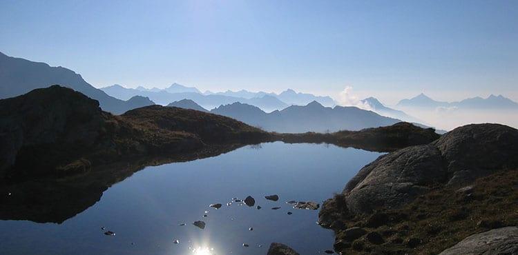 Panoramavy Aosta-Gran Paradiso