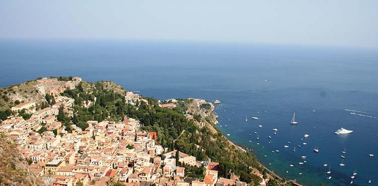 Sicilien-Lipari-vandringsresa