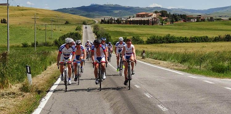 Toscana landsvägscykling