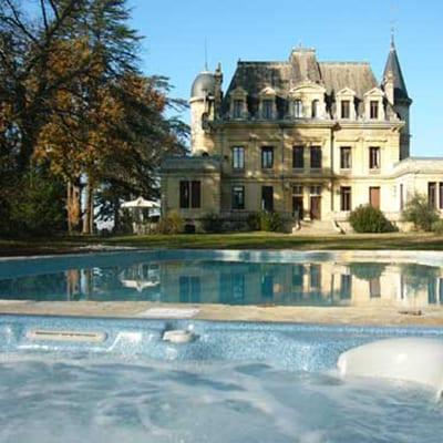 Chateau Camperos vandring Bordeaux