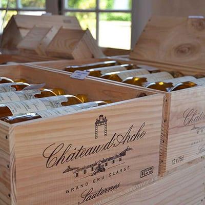 Vandringsresa Bordeaux chateau-arche-sauternes