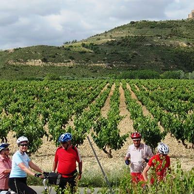 Cykelresor på egen hand i La Rioja