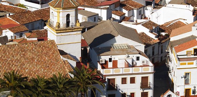 Montejaque i Andalusien