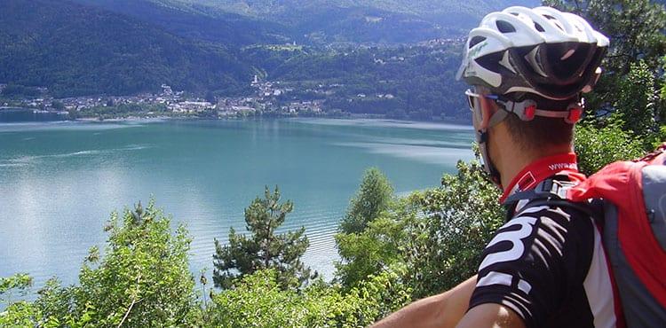 Mountainbike i Trentino i Dolomiterna