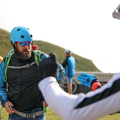 MTB vägval Trails Camp Dolomiterna