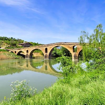 Puente la Reina - Drottningens bro