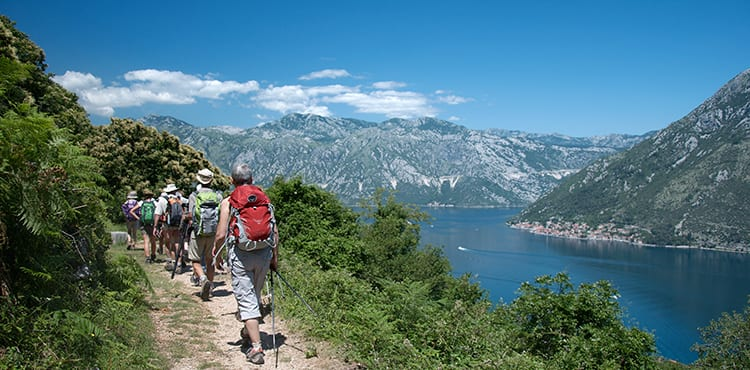 Montenegro, vandringsresor på egen hand med EverTrek