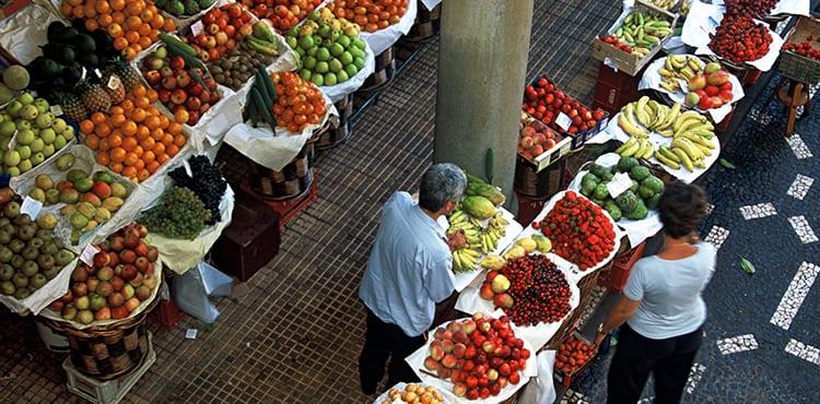 Marknad i Funchal
