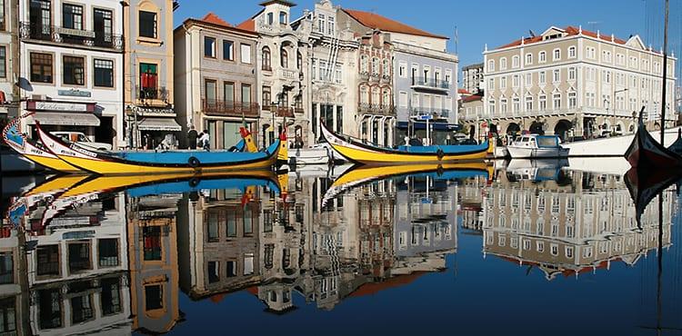 Aviero Portugal cykelresa