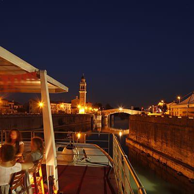 Båtcykelresor från Venedig till Mantova