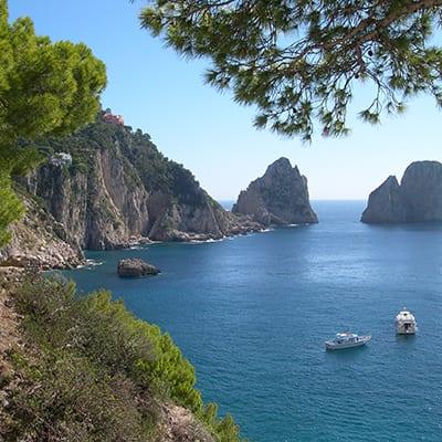 Capri-vandringsresor