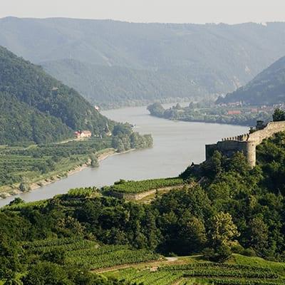 Cykelresor från Passau till Wien