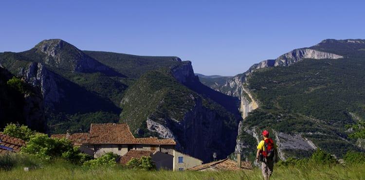 Gorges-du-Verdon-vandringsresor