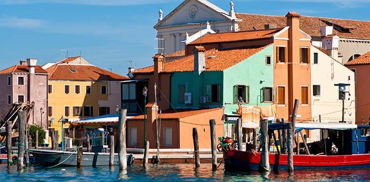 Italien båtcykling