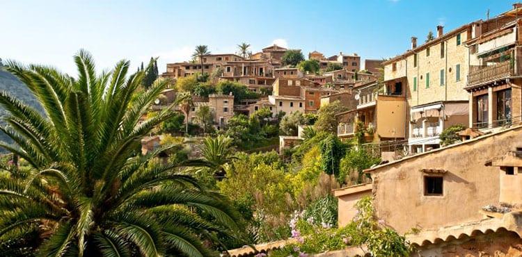 En trevlig Mallorcansk landsby