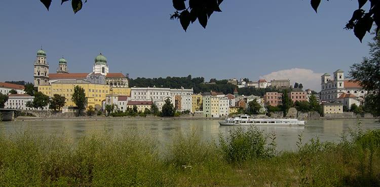 Cykelresan startar i Passau
