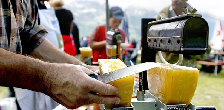 Raclette Vandringsresa Schweiz