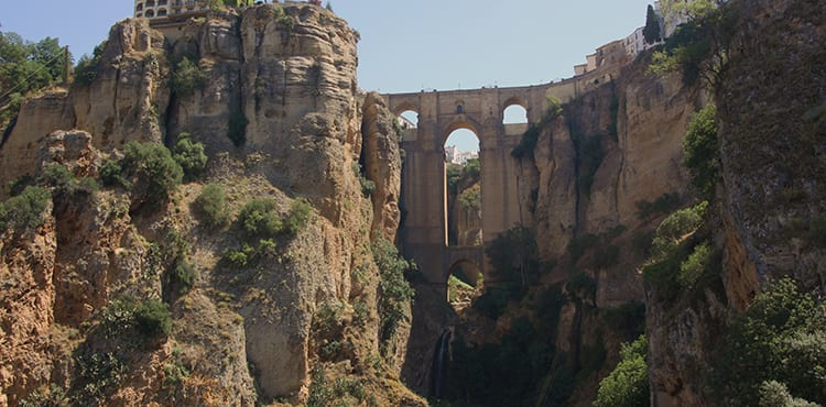 Vandringsresor i Ronda i Andalusien med EverTrek