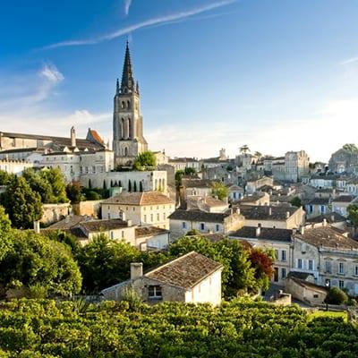 Saint-Emilion, Gironde, Bordeaux, Aquitaine, Frankrike