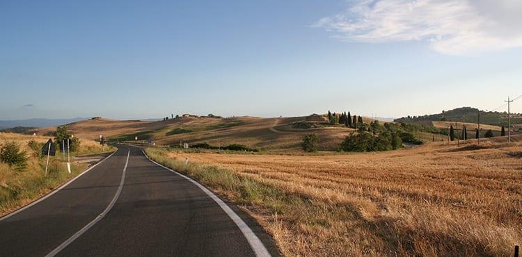 Val d'Orcia i Toscana