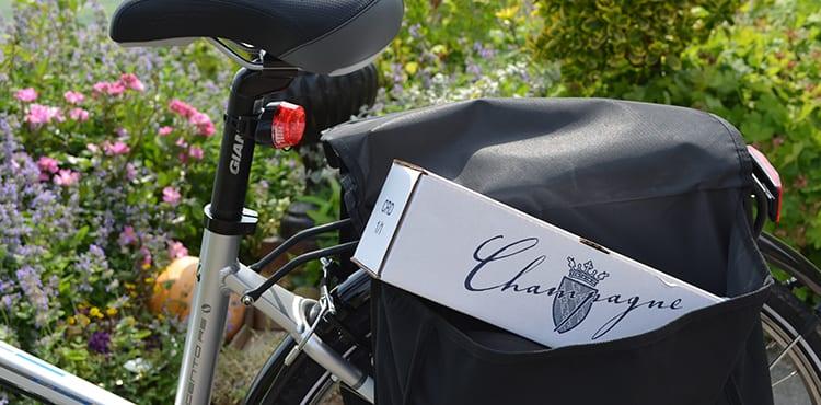 Cykla i Champagne på egen hand