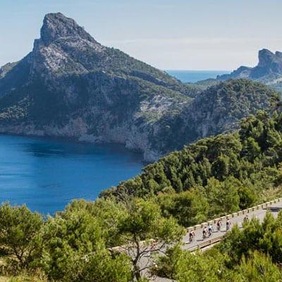 Cykla på Mallorca