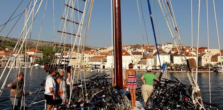 Syddalmatien båtcykelresor