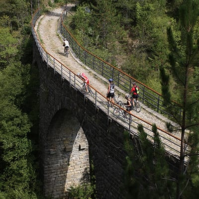 Parenzana Istrien Kroatien MTB