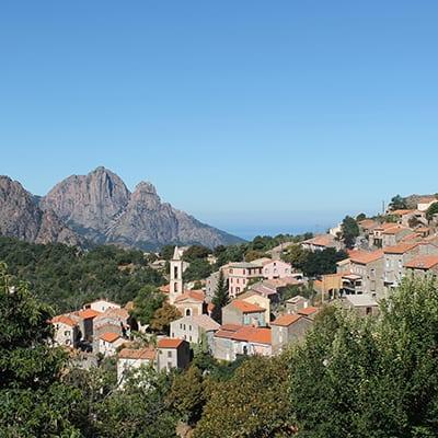 Evisa-Korsika-vandringsresor