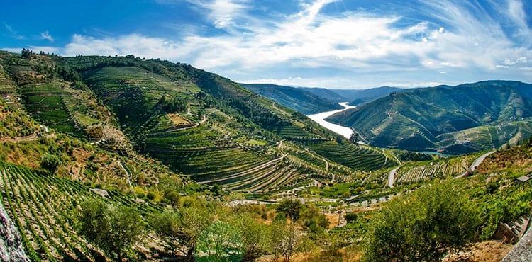 Duoro i Portugal, vandringsresor vingårdar med EverTrek