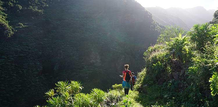 La Palma i Spanien, vandringsresor på egen hand med EverTrek