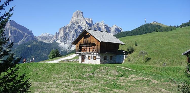 Dolomiterna i Italien, vandringsresor på egen hand med EverTrek