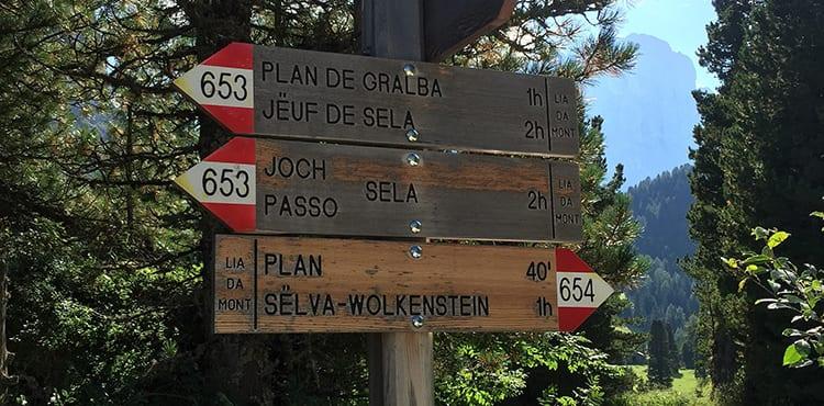 Dolomiterna Italien-vandringsresor