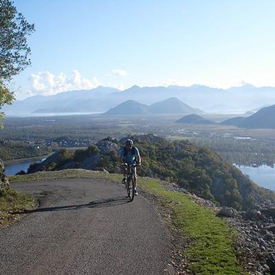 Montenegro-Kotorbukten-Skadarsjön-cykelresor