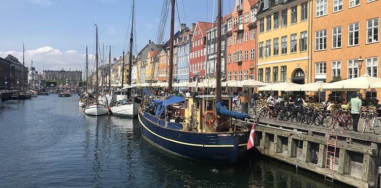 Cykla till Nyhavn
